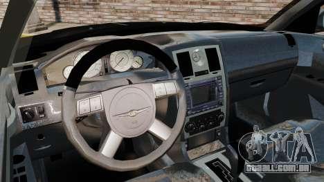 Chrysler 300C Pimped para GTA 4 vista de volta