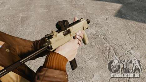 MP9 metralhadora tático v4 para GTA 4