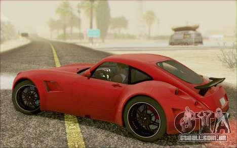 Wiesmann GT MF5 2010 para GTA San Andreas vista interior