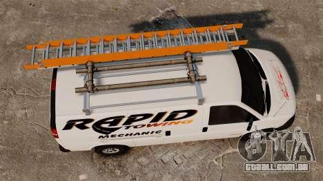 GMC Savana 2500 Rapid Towing Mechanic para GTA 4 vista direita