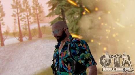 Max Payne 3 para GTA San Andreas terceira tela