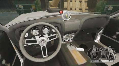 Ford Mustang Mach 1 Twister Special para GTA 4 vista interior