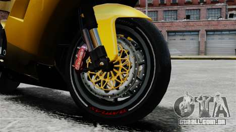 Ducati 848 para GTA 4 vista direita