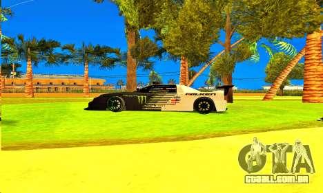 Infernus Rally Moster Energy 2012 para GTA San Andreas