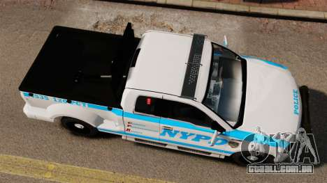 Ford F-150 v3.3 NYPD [ELS & EPM] v3 para GTA 4 vista direita