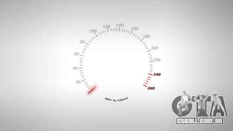 Velocímetro AdamiX v4 para GTA 4