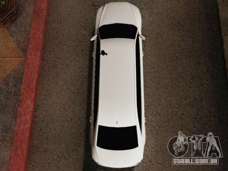 Audi A8 Limousine para GTA San Andreas vista superior