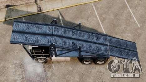 Packer-trampolim para GTA 4 vista direita