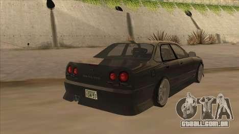 Nissan Skyline ER34 Street Style para GTA San Andreas vista direita