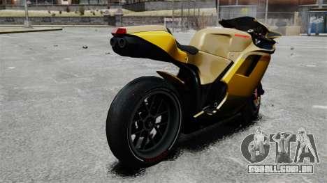Ducati 848 para GTA 4 esquerda vista