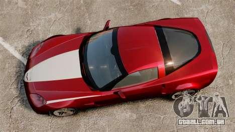 Chevrolet Corvette C6 Z06 V1.1 para GTA 4 vista direita
