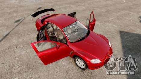 Mazda RX-8 Light Tuning para GTA 4 vista lateral