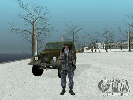 Commando para GTA San Andreas quinto tela