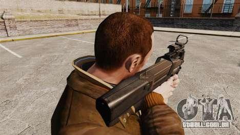 Submetralhadora FN P90 para GTA 4 segundo screenshot
