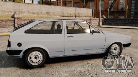 Volkswagen Gol LS 1986 para GTA 4 esquerda vista