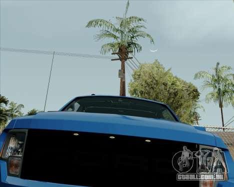 Ford F-150 SVT Raptor 2011 para GTA San Andreas esquerda vista