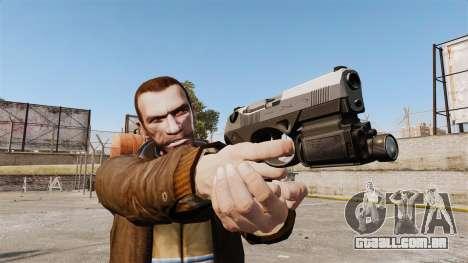 Beretta PX4 para GTA 4 segundo screenshot