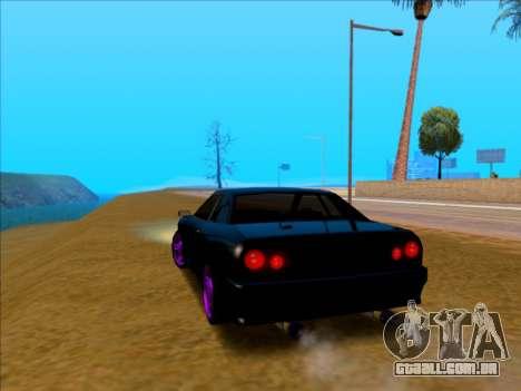 Elegy by Xtr.dor v1 para GTA San Andreas esquerda vista