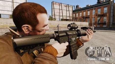 Tático M4 v1 para GTA 4 segundo screenshot
