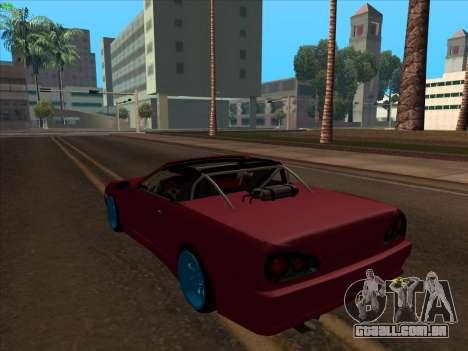 Elegy pickup by KaMuKaD3e para GTA San Andreas esquerda vista