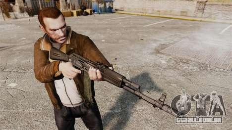 AK-74M para GTA 4 terceira tela