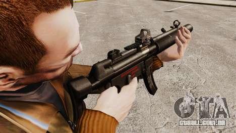 MP5SD metralhadora v1 para GTA 4 segundo screenshot