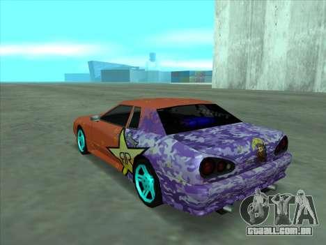 Drift elegy by KaMuKaD3e para GTA San Andreas vista inferior