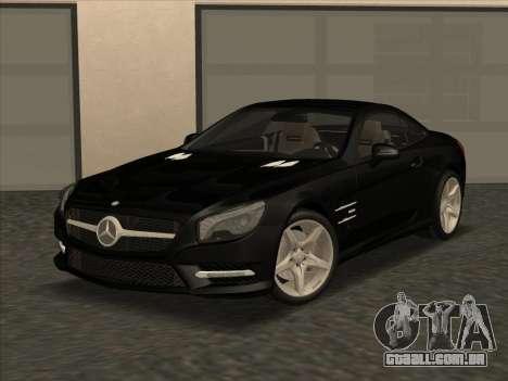 Mercedes-Benz SL500 2013 (ImVehFt v2.02) para GTA San Andreas