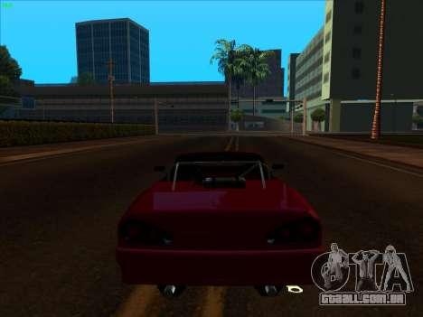 Elegy pickup by KaMuKaD3e para GTA San Andreas vista traseira