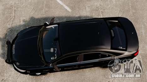 Ford Taurus Police Interceptor 2013 LCPD [ELS] para GTA 4 vista direita