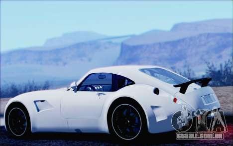 Wiesmann GT MF5 2010 para GTA San Andreas esquerda vista