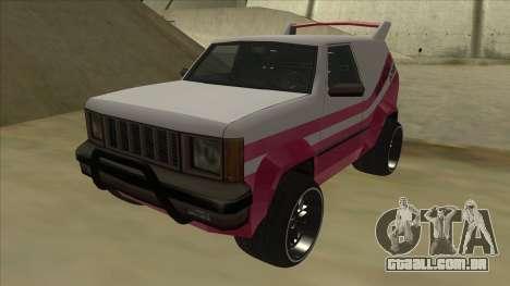 Sandking DUB para GTA San Andreas