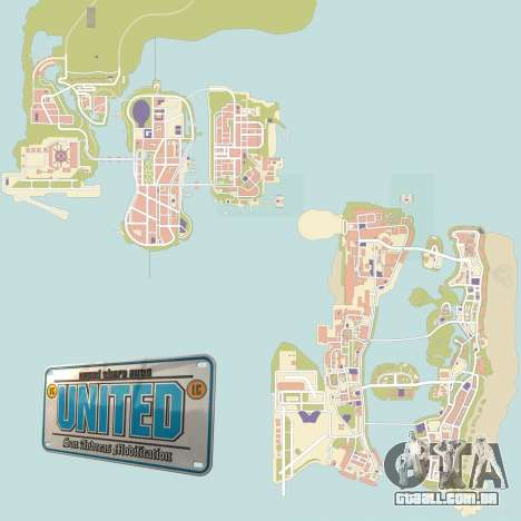 GTA United 1.2.0.1 para GTA San Andreas segunda tela