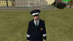 Oficial de polícia de trânsito russo