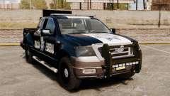Ford F-150 De La Policia Federal [ELS & EPM] v1