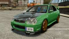 Subaru Impreza 2005 DTD Tuned