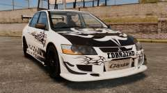 Mitsubishi Lancer Evolution VIII MR CobrazHD para GTA 4