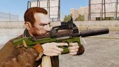 V2 de pistola-metralhadora belga FN P90
