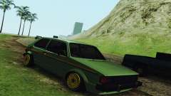 Volkswagen Rabbit GTI 1986 Cult Style para GTA San Andreas