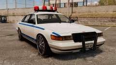 Polícia em uma unidades de 20 polegadas