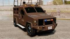 Lenco Bearcat blindado LSPD GTA V