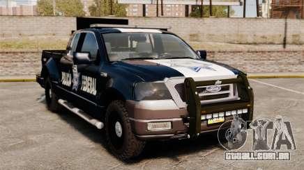 Ford F-150 De La Policia Federal [ELS & EPM] v1 para GTA 4