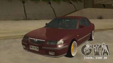 Mazda 626 Hellaflush para GTA San Andreas