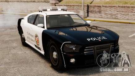 Buffalo policial LAPD v2 para GTA 4