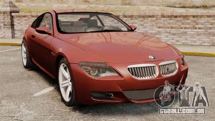 BMW M6 coupé para GTA 4