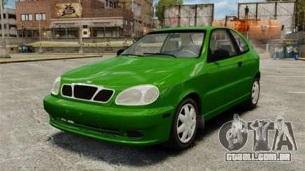 Daewoo Lanos FL 2001 US para GTA 4