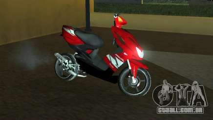 Yamaha Aerox R para GTA San Andreas