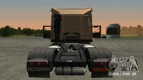 Volvo FM16 para GTA San Andreas vista direita