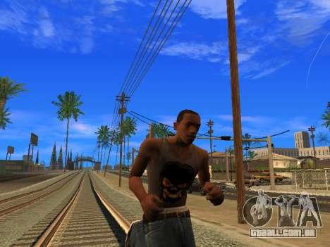 Novo Mike CJ para GTA San Andreas por diante tela