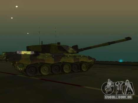 Challenger 2 para GTA San Andreas esquerda vista
